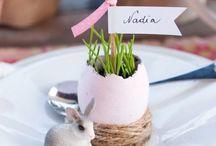 Páscoa / Ideias lindas de decoração para a mesa de Páscoa