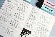Papeleria y bullet diary
