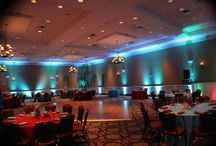 Holy Trinity Wedding Lighting Options And Ideas / Lighting options by Orlando Dj And Lighting For Holy Trinity Greek Orthodox Church In Orlando, Fl. Shows you how your wedding colors would look at this extraordinary wedding venue.