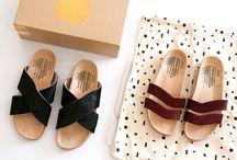 · sapatos / confortáveis // tênis // sandálias // rasteirinhas