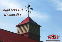 Weathervane Wednesdays! / On Wednesdays we pin a picture of a nice Cupola with a Weathervane.