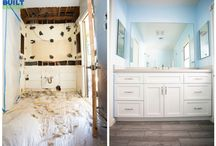 Before and After Remodeling By Built To Perfection / Before and after comparison Photos of some of our Projects.
