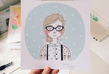 Custom Portraits / Custom portraits, illustrations and drawings. Portraits of real and imaginary people.