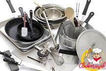 Tips dan Cara Membersih Pelaratan Dapur Dengan Cepat, Cara Membersihkan Peralatan Dapur