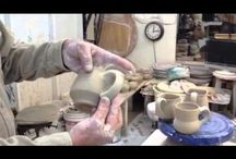 Pottery - Wheel - Trimming and finishing / by Eileen Conner