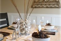 Christmas table / Easy ideas for an inspiring Christmas table