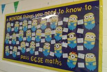 Maths displays