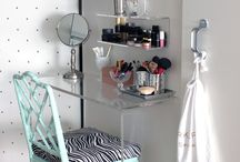 Vanity ideas / Make up tables and stuff