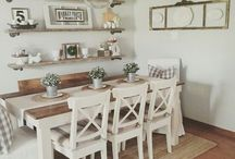 Dining Room Ideas / Dining room design, styling a dining room, modern dining room, traditional dining room, decorating a dining room, stylish dining room, designing a dining room, inspirational dining room.