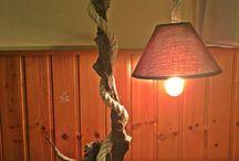 Driftwood lamp wooden lamp