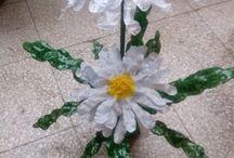 Riciclo / Oggetti creati con bottiglie di platica, cartone e qualsiasi materiale da riciclare...:-)