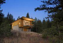 Maisons en bois contemporaines / Découvrez les plus belles maisons en bois contemporaines à travers de nombreuses photos et inspirations. Vous trouverez également de nombreux chalets en bois contemporains.
