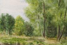 Malba-akvarel