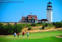 Golfing on Cape Cod