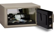 Executive Vault Safe / The Executive vault safe from DigitalSafe is designed with mahogany felt lined jewelry trays, passport holders and fine watch alcoves to fit into a smaller space while providing deposit box security in your very own home.   #VaultSafe   #HomeSecurity