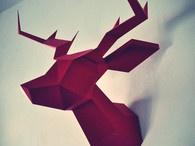 Papercraft / Papertoys / Cut, Fold, Glue, Play / by Brian Castleforte