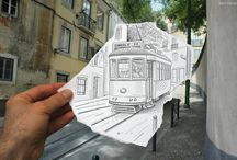 Art - Drawings / pen, pencil, biro, acryl / by CRYgraphics