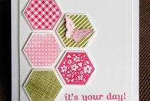 six sided sampler  stampin up