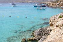 Malta / Fotografie Malty. #Malta je hustě obydlená ostrovní země ležící ve středozemním moři.