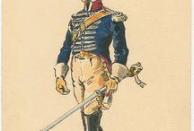 Regno di Napoli. Uniformi del periodo napoleonico