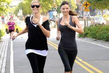 Promis & Sport / Prominente, Stars beim Workout, Fitness Tipps und Tricks sowie Workouts der VIPs