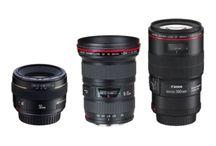 3 type of Camera Lenses
