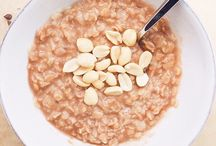Oats / Oatmeal, baked oats, overnight oats, etc