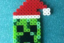 Hama beads - christmas