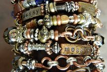bracelets rings necklaces etc