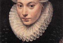 Myöhäisrenessanssi, Espanjan hovin myllynkivikaulusmuoti 1550-1620