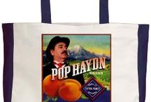 Pop Haydn posters, memorabilia / Posters, bags, memorabilia and swag of Pop Haydn and the Medicine Show.