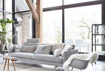 Livingroom inspirations / Select livingrooms we like