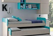 contemporary Storage beds