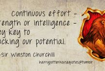 Gryffindor House Quotes / by Amy