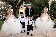 Wedding Kids / We all love the cute pics of the flower girls and ring bearers. Come and share in some ideas.