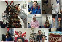 Christmas Jumper Day 2015 / The Mesh team getting into the festive spirit with Christmas Jumper Day! Great effort guys! Who else got involved?