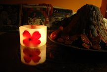 Candle lighting / Candle lighting with handmade aromatic candles