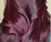 aubergine Hair collor