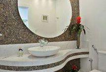 mosdók, fürdőszobák