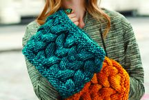 шарфы и снуды