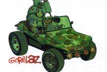 Gorillaz / Gorillaz by Jamie Hewlett.