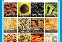 Food  / vegan & vegetarian recipes and food plans