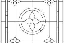patrones para mosaico