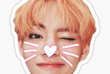 BTS Stickers