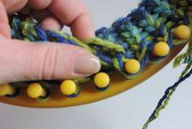 pletení na kruhu