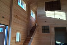 Stanwood Barn make-over! / Belmark's custom work has no limits! This already charming barn received an interior makeover creating an entirely wrapped wood interior. This is no ordinary wood either, the wood was old growth Hemlock from Oso, WA. The renovation took this barn to the next levels of amazing.  Nice job Keith & Noe from Team Belmark!