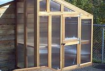 GREENHOUSE. (SMALL) COLD FRAMES etc