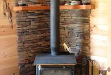 Wood stoves and cheminées
