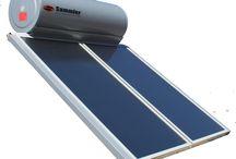 Solar water heaters / Installation of solar water heaters