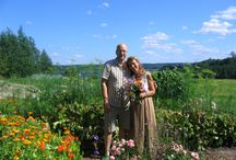 Franzila Herb Garden / This is a magical place with magical people. Over 35 years Virpi Raipala-Courmier and her husband Jim Courmier have been developing and farming Raipala's ecological family estate and wellbeing center in Hämeenkyrö, Finland. These amazing, wise wizard like people. http://frantsila.com